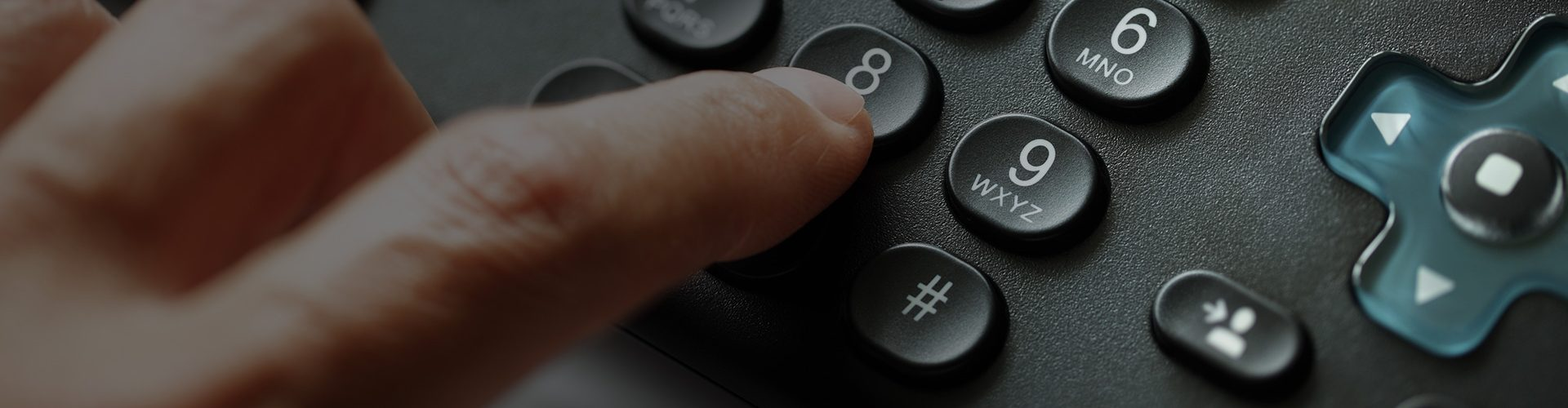 person person number on keypad to contact us