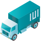tactical logistic solutions blue drayage icon